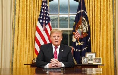 Trump links drugs, violent crime to lack of border wall