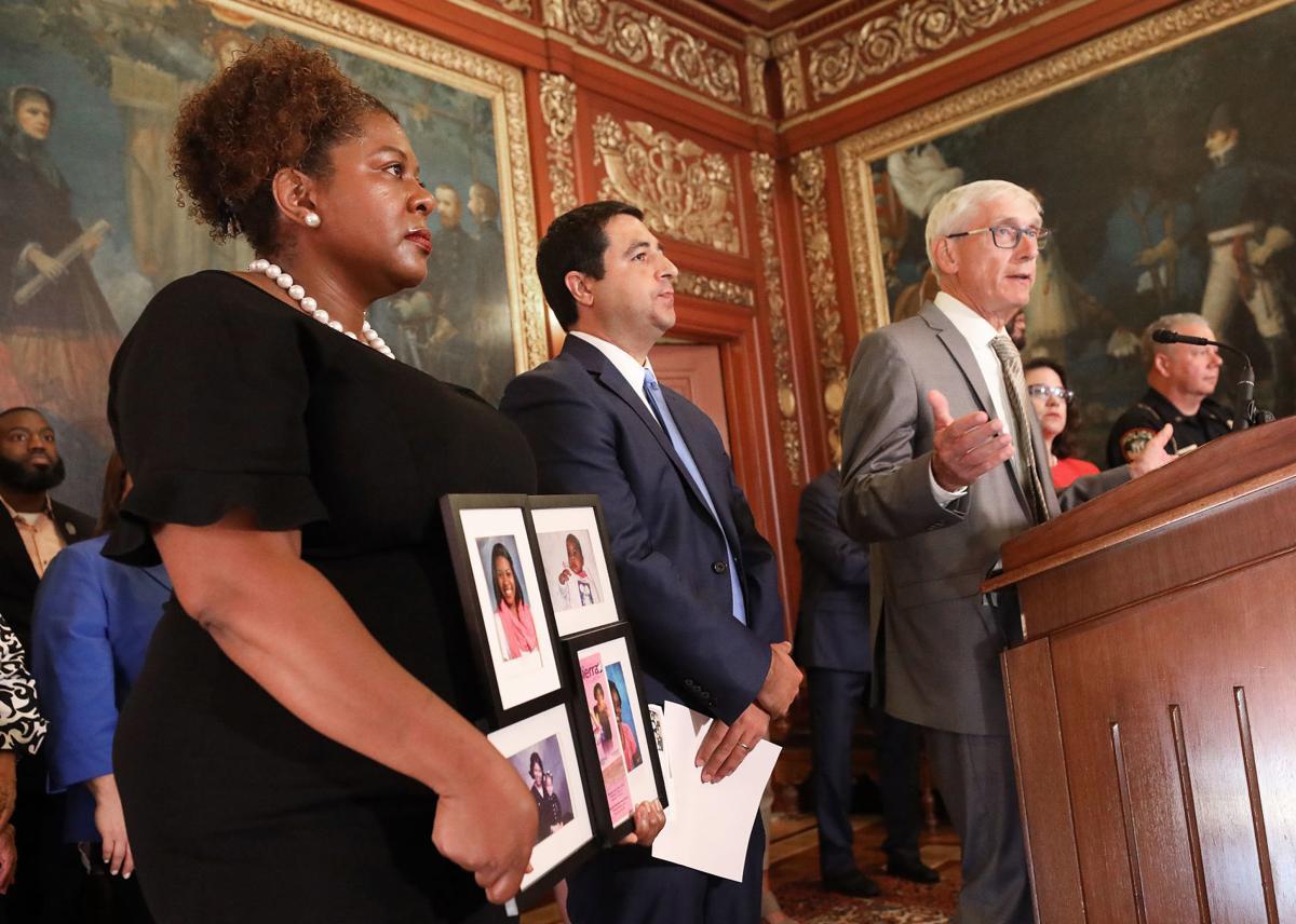 Tony Evers announces background checks bill