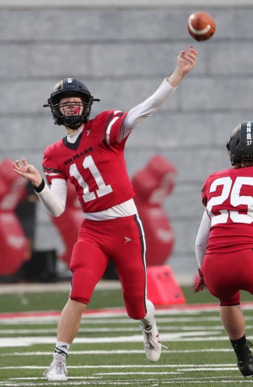 Prep football photo: Sun Prairie quarterback Brady Stevens