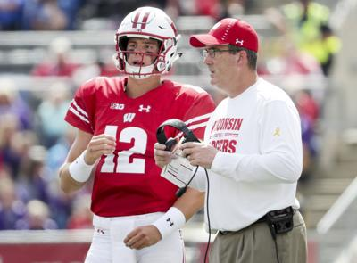Chryst and Hornibrook-Iowa kickoff time