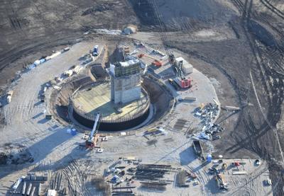 Foxconn construction continues