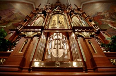 Tabernacle at St. Peter Catholic Church in Ashton (copy)