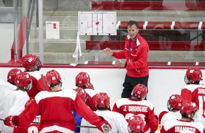Tom Oates: Badgers men's hockey coach Tony Granato faces an open net in Year 3