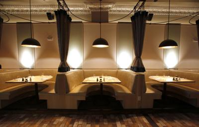 Booths at Graft