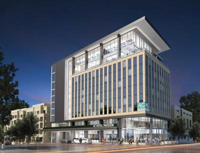 East Washington hotel rendering