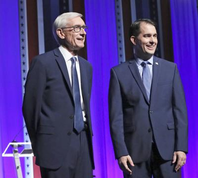 Tony Evers and Scott Walker in tight race - JUMP