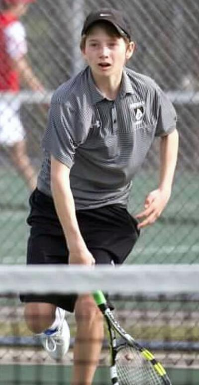 Prep boys tennis photo: Madison Edgewood's Alex Sviatoslavsky