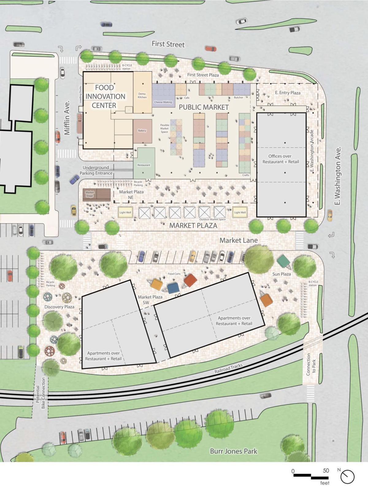 Public Market Site Plan