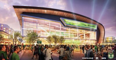 Bucks arena rendering 2