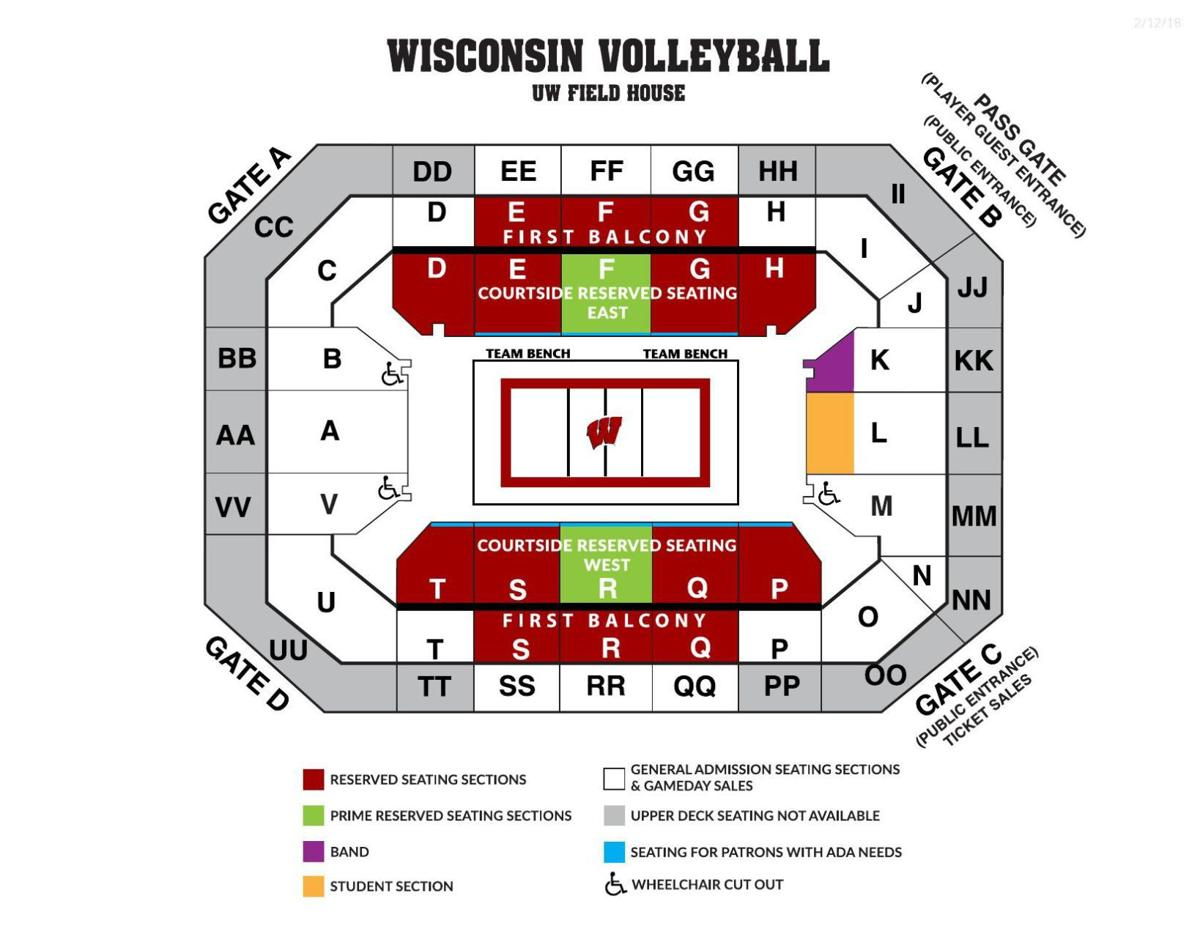 Pdf Uw Volleyball Seating Chart