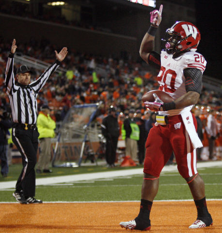 Badgers football: UW running back James White has unfinished ...
