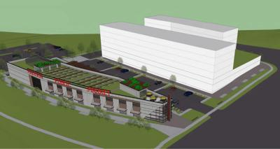 Conceptual Madison Public Market layout