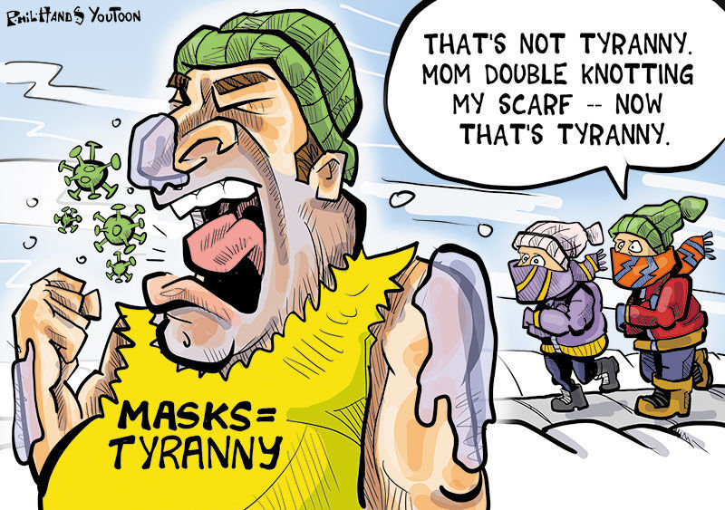 Winning cold mask You Toon