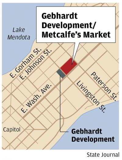 Gebhardt Development, Metcalfe's Market map