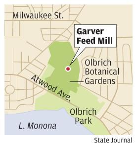 Garver Feed Mill map