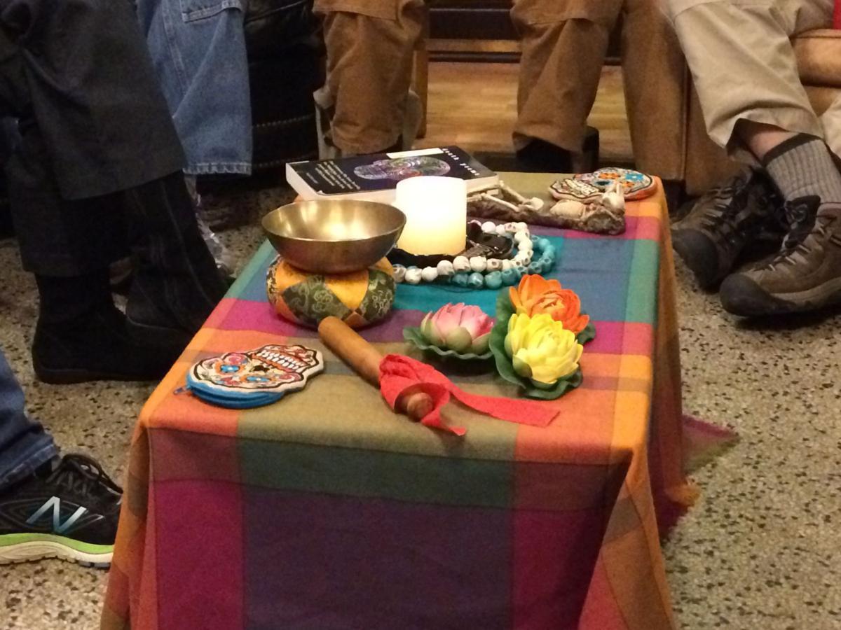 Death cafe table