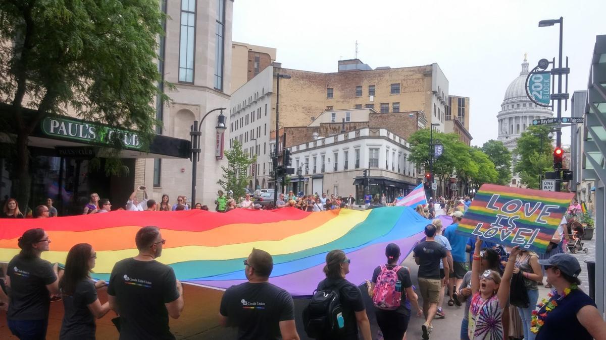 Gay lesbian bi pride