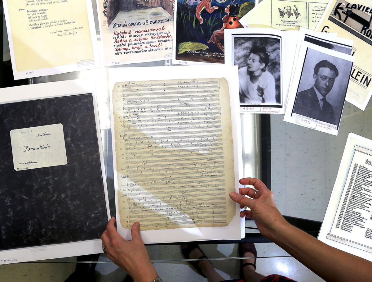Artifacts from 'Performing the Jewish Archives'
