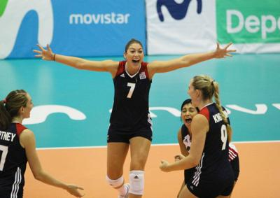 Lauren Carlini-USA volleyball photo
