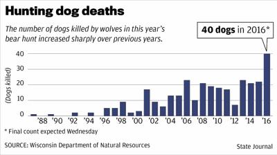 Hunting dog deaths