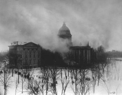 Capitol fire