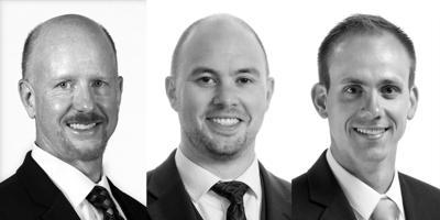 Roy Fine, Mark Maciolek and Jason Reed