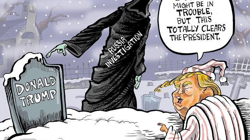 Hands on Wisconsin: Ebeneezer Trump doesn't learn from future ghost