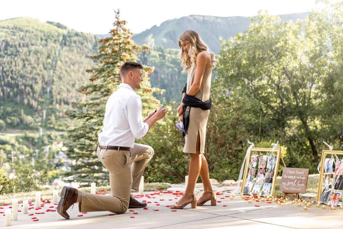 Micah Potter proposal photo