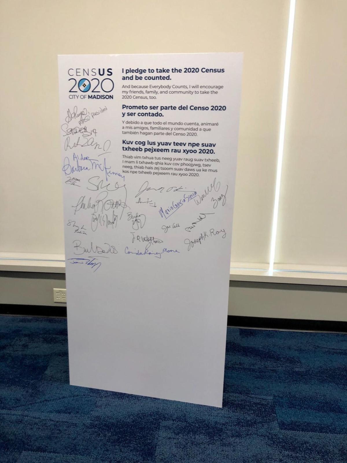 2020 Census pledge