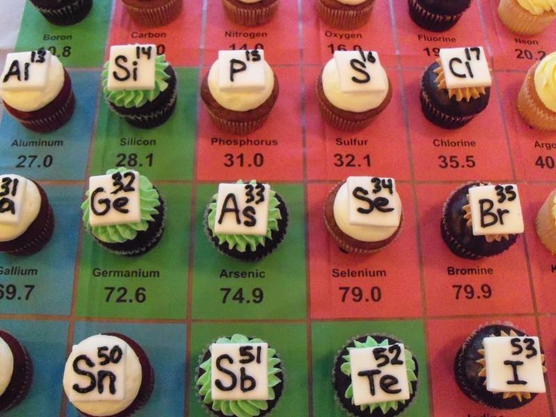 Elemental cupcakes