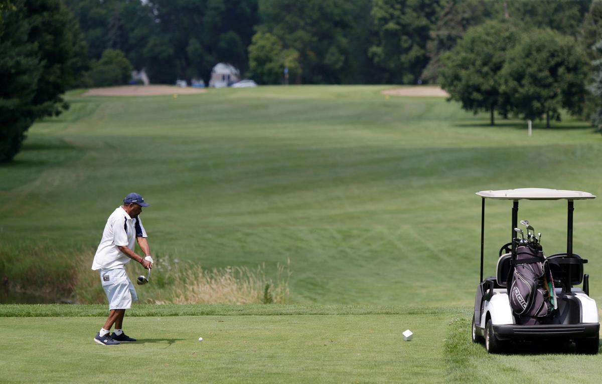 Golf hole along Monona Drive