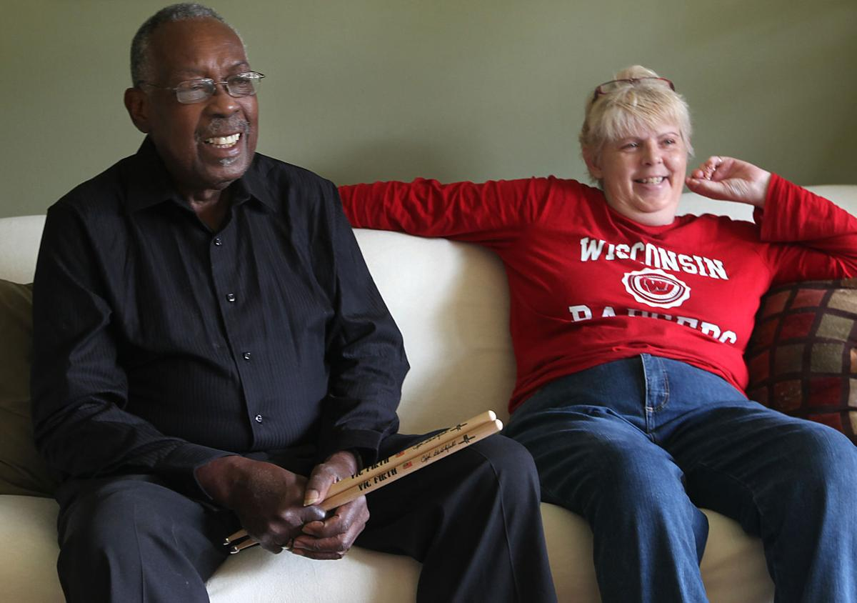 Clyde Stubblefield and Jody Hannon