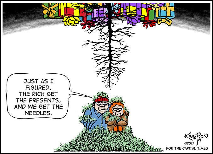 Editorial cartoon (12/20/2017)