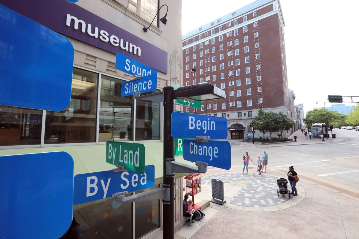 Member visitors come to the reopened Madison Children's Museum