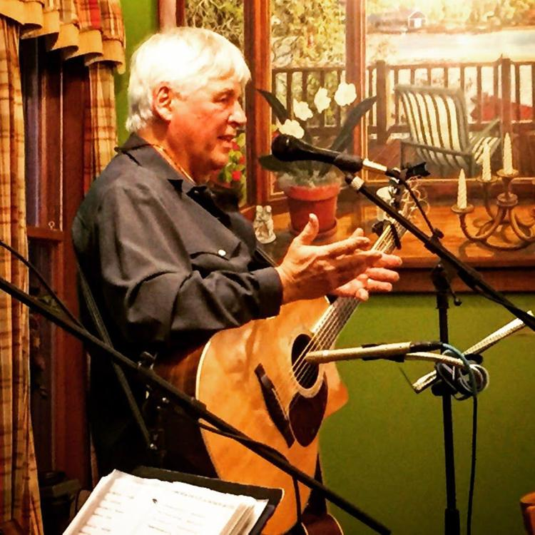 Mike McDougal entertains at the General Store, Saturday, May 18, 2 to 4 pm