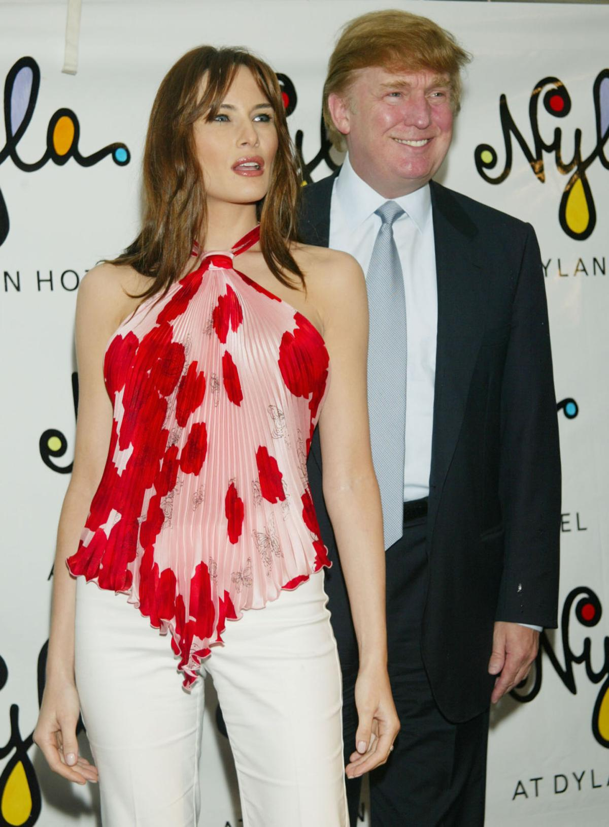 From Fashion Model To First Lady Melania Trump Through The Years National News Madison Com