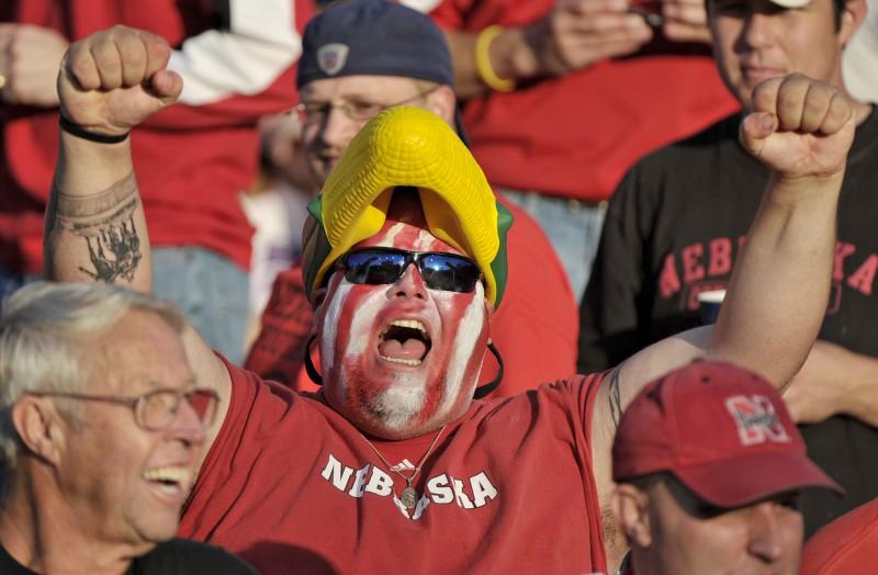 Nebraska Cornhuskers fan file photo