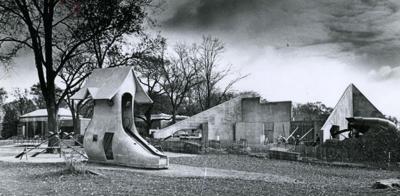 Vilas Park shoe slide in 1973