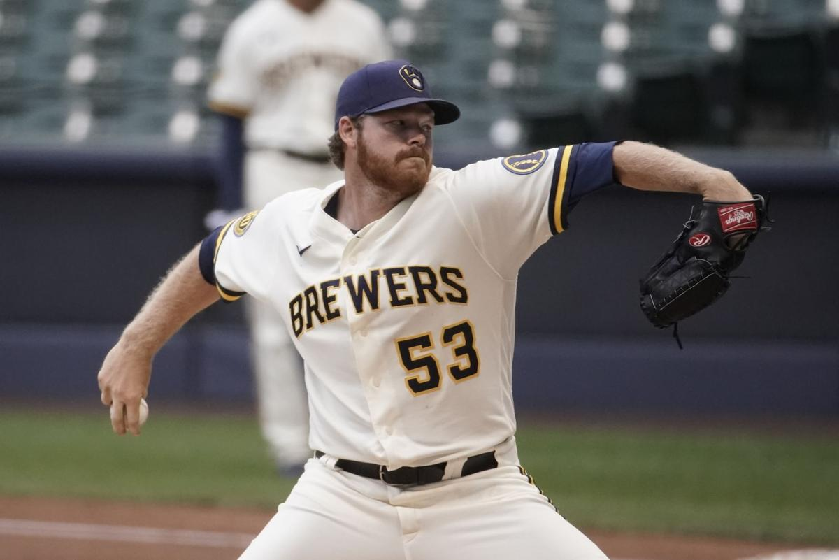 Brewers right-hander Brandon Woodruff gets expected call to start Opening Day   Major League Baseball   madison.com