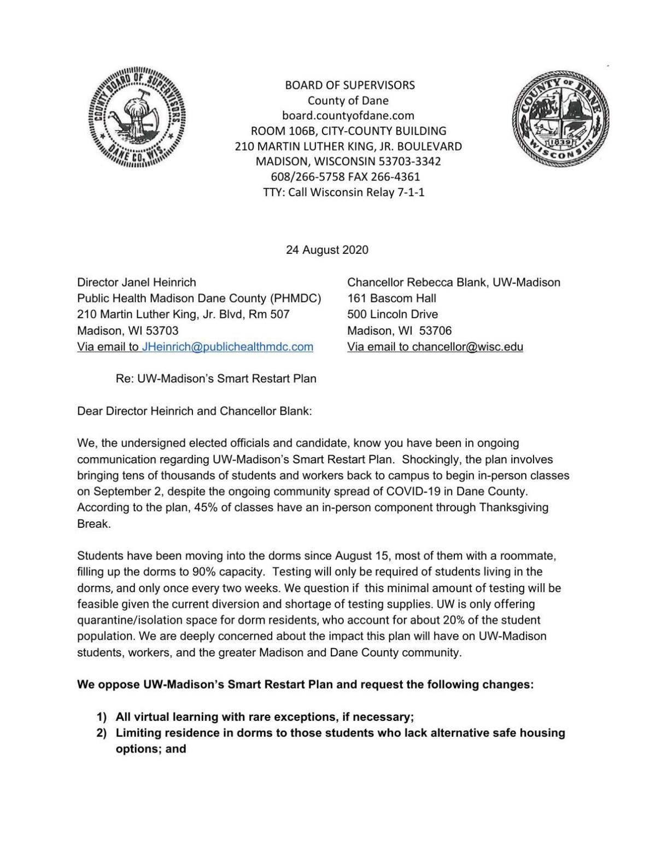 Letter of Concern