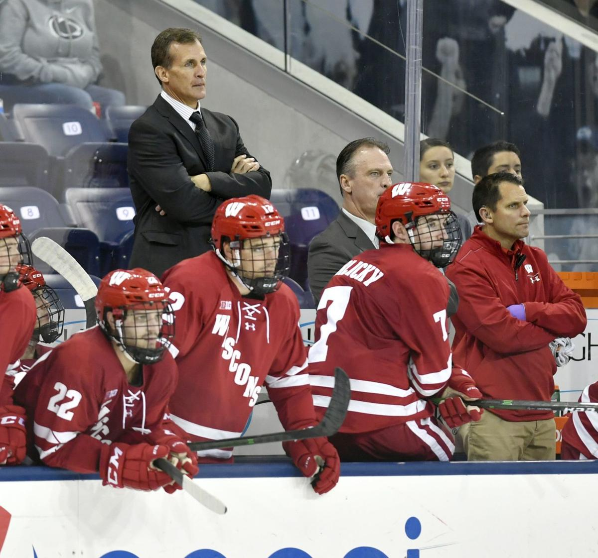 Badgers bench