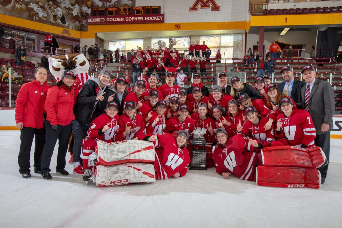 Wisconsin Badgers women's hockey team beats No. 1 ...
