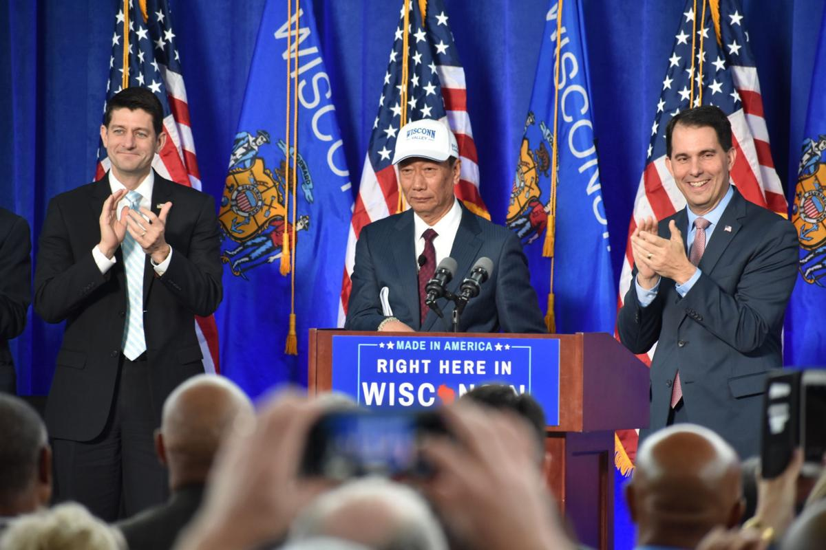 Foxconn signing