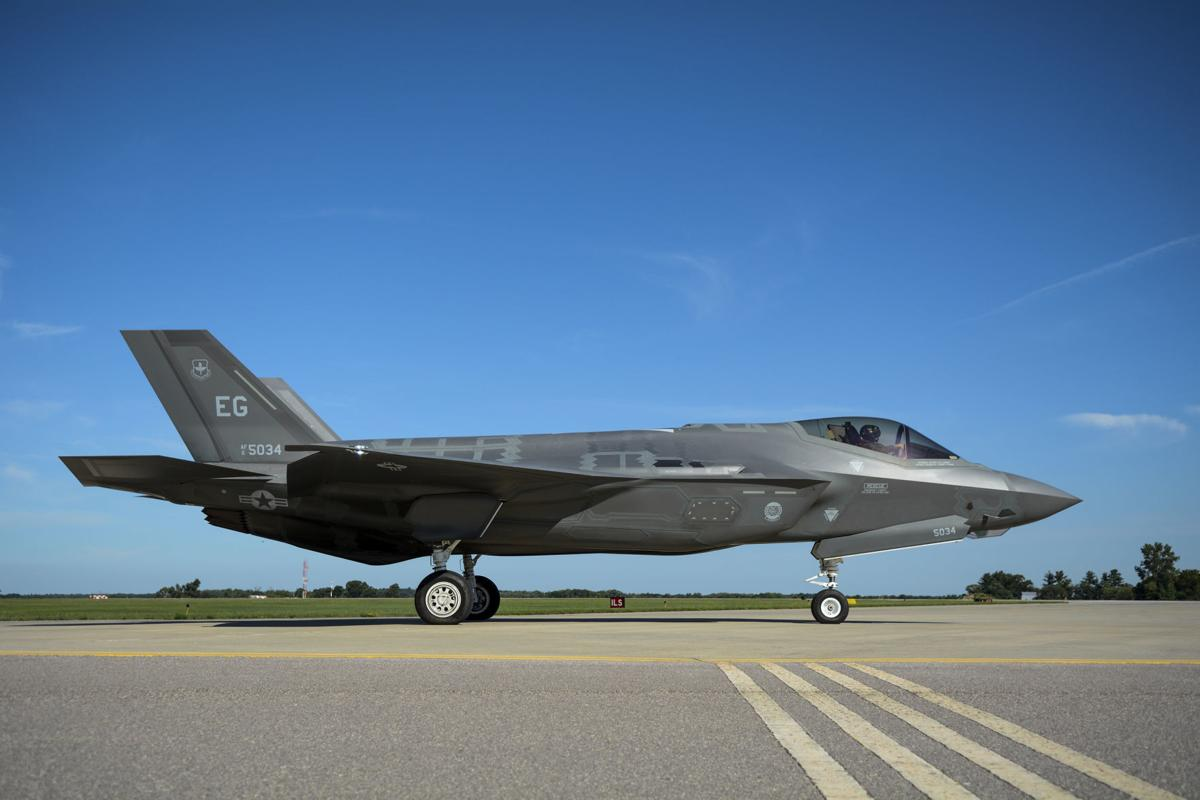 F-35 at Volk Field