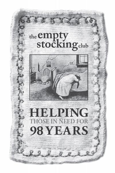 2016 Empty Stocking Club logo, 98 years