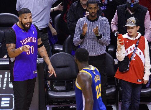 Raptors take NBA Finals opener, beat Warriors 118-109