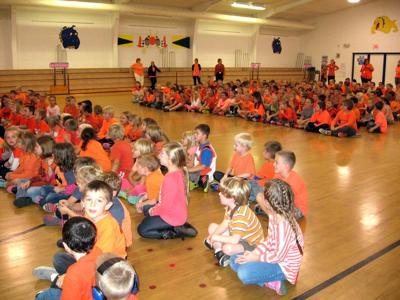 School fights bullying