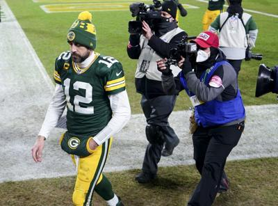 Aaron Rodgers - NFC title game