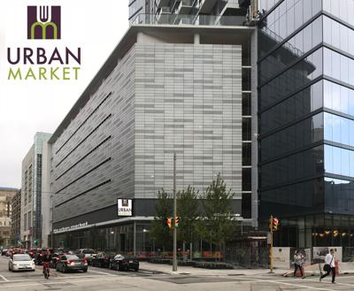 Urban Market Is A 10 500 Square Foot That Will Be Located On The Ground Floor Of 7seventy7 Luxury Apartment Tower In Downtown Milwaukee