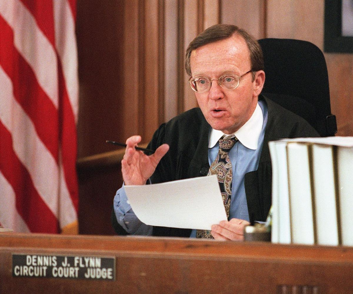 Retired Racine County Judge Dennis J. Flynn (copy)